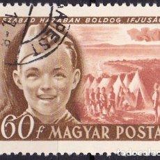 Sellos: 1950 - HUNGRIA - DIA INTERNACIONAL DEL NIÑO - YVERT 956. Lote 236430980