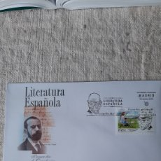 Sellos: ESPAÑA 2001 LITERATURA ESPAÑOLA LEOPOLDO ALAS CLARÍN EDIFIL 3802 SGC 18 CUENTO ADIÓS CARDENAL. Lote 236741605