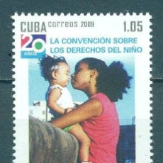 Sellos: CUBA 2009 THE 20TH ANNIVERSARY OF THE UNICEF MNH - CHILDREN, UNICEF. Lote 241348895