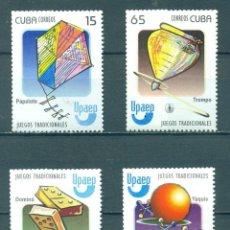 Sellos: CUBA 2009 GAMES FOR CHILDREN MLH - CHILDREN. Lote 241356270