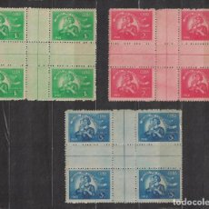 Sellos: CUBA 1948 POSTAL EMPLOYEES RETIREMENT FUND MNH - WOMEN, CHILDREN, POST OFFICE, POST SERVICES. Lote 241357220