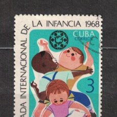 Sellos: CUBA 1967 INTERNATIONAL DAY FOR CHILDREN MNH - CHILDREN. Lote 241359870