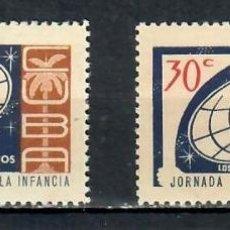 Sellos: CUBA 1963 THE CHILDREN'S WEEK MNH - CHILDREN. Lote 241379355