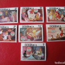 Sellos: *DOMINICA, 1980, NAVIDAD, TEMA DISNEY, PETER PAN. Lote 243829765