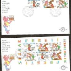 Sellos: HOLANDA. 1998. FDC . ACCIÓN ESCOLAR. INFANTIL.. Lote 253124555