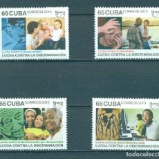 Sellos: ⚡ DISCOUNT CUBA 2013 AMERICA UPAPE - THE FIGHT AGAINST DISCRIMINATION MNH - CHILDREN, COMPUT. Lote 255616865