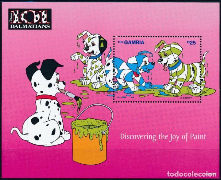 GAMBIA 1997 HB IVERT 335 *** DIBUJOS DE WALT DISNEY - 101 DALMATAS - INFANTIL (Sellos - Temáticas - Infantil)
