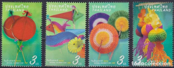 ⚡ DISCOUNT THAILAND 2018 NATIONAL CHILDREN'S DAY MNH - CHILDREN, TOYS (Sellos - Temáticas - Infantil)