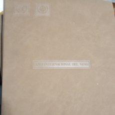 Sellos: GRAN ALBUM CIRFIL CON 41 SOBRES DE UNICEF AÑO INTERNACIONAL DEL NIÑO 1979. TODOS DIFERENTES. Lote 262684015