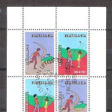 Sellos: ANTILLAS HOLANDESAS H.B. Nº 8º JUEGOS INFANTILES. Lote 262938315
