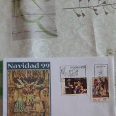 Sellos: NAVIDAD 1999 ESPAÑA EDIFIL 3685/6 SFC 30 MATASELLO USADOS NIÑOS INFANTIL. Lote 263109365
