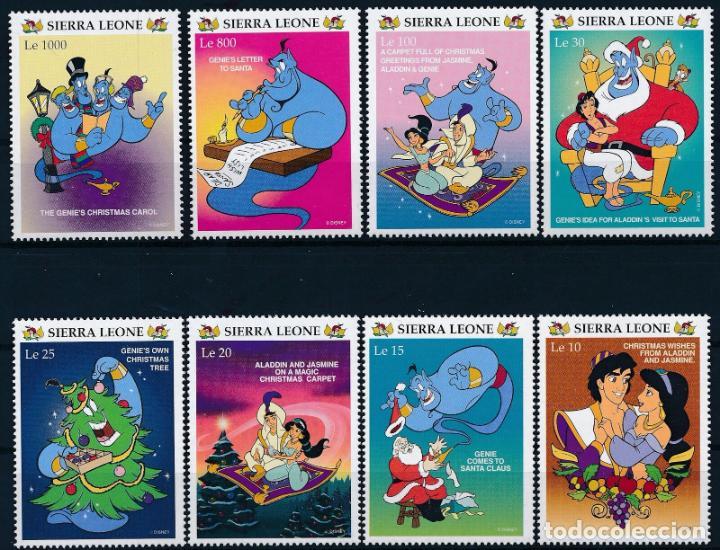 SIERRA LEONA 1996 IVERT 2308/15 *** NAVIDAD (II) - DIBUJOS DE LA PRODUCTORA WALT DISNEY - INFANTIL (Sellos - Temáticas - Infantil)