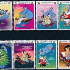 Sellos: SIERRA LEONA 1996 IVERT 2308/15 *** NAVIDAD (II) - DIBUJOS DE LA PRODUCTORA WALT DISNEY - INFANTIL. Lote 265498814
