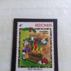 Timbres: SELLOS WAL DISNEY- REDONDA. Lote 266287948