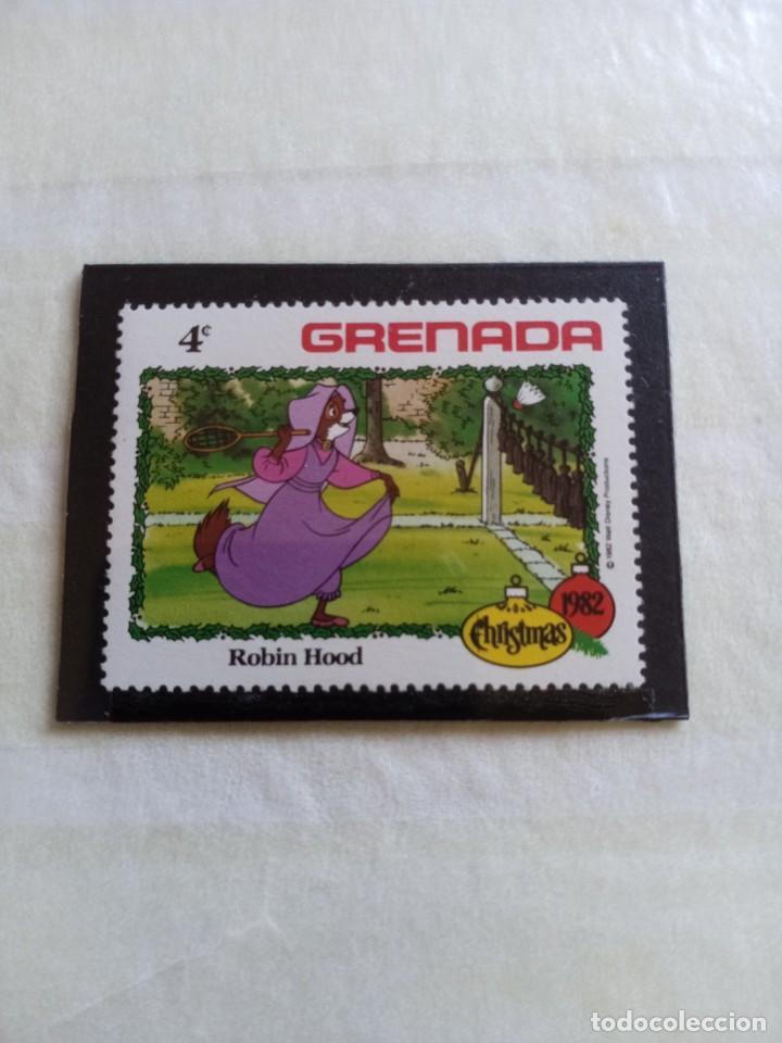 SELLOS WAL DISNEY- GRENADA (Sellos - Temáticas - Infantil)