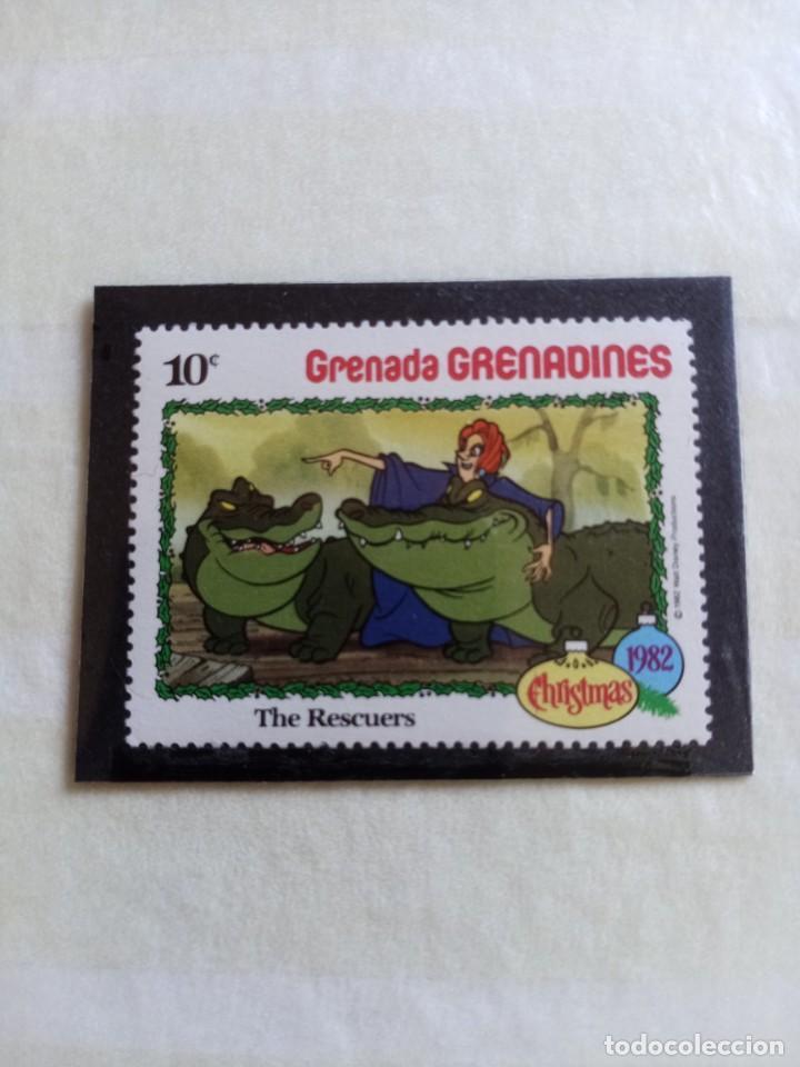 SELLOS WAL DISNEY- GRENADA GRENADINES (Sellos - Temáticas - Infantil)