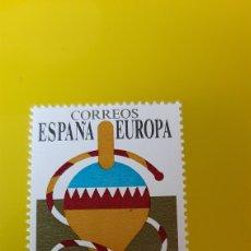 Sellos: JUEGOS INFANTILES PEONZA EUROPA 1989 ESPAÑA EDIFIL 3009 SELLO NUEVO O USADA SOLICITA. Lote 267355554