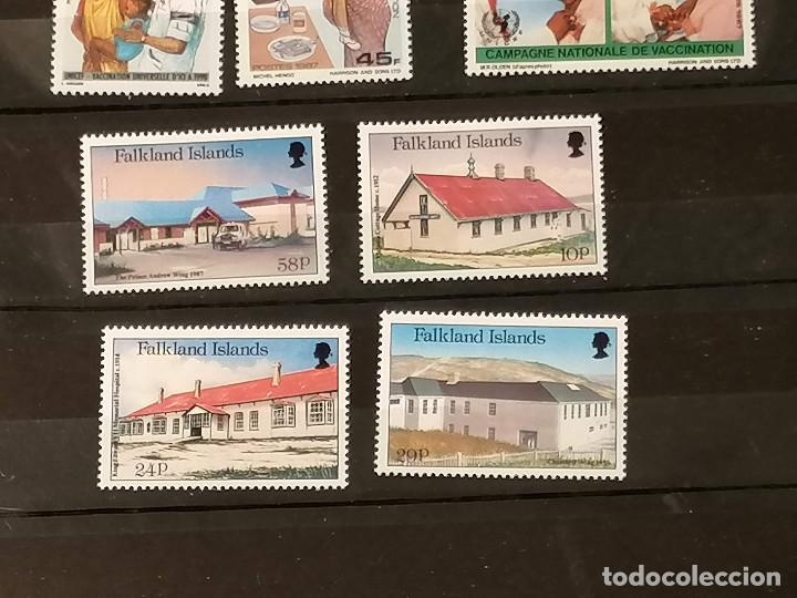 Sellos: Medicina Unicef Hospital Lote sellos resto coleccion en nuevo *** MNH - Foto 4 - 270876343