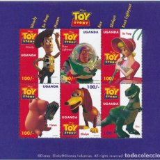 Sellos: UGANDA 1997 IVERT 1493/98 *** TOY STORY - PELÍCULA DE LAS PRODUCCIONES WALT DISNEY - INFANTIL. Lote 271598923