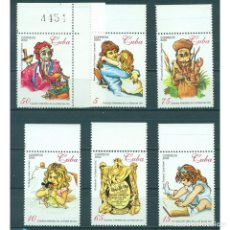 Sellos: ⚡ DISCOUNT CUBA 2000 THE GOLDEN AGE - CHILDREN'S MAGAZINE BY JOSE MARTI MNH - JOURNALISTS, C. Lote 274707673