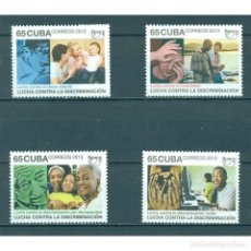 Sellos: ⚡ DISCOUNT CUBA 2013 AMERICA UPAPE - THE FIGHT AGAINST DISCRIMINATION MNH - CHILDREN, COMPUT. Lote 274710888