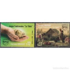 Sellos: ⚡ DISCOUNT URUGUAY 2009 AMERICA UPAEP - TRADITIONAL GAMES MNH - TOYS. Lote 274789943