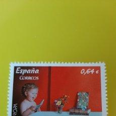 Sellos: INFANTIL LIBROS J.CARRERO DISEÑO ESPAÑA 2010 EDIFIL 4564 NUEVA O USADA SOLICITA TUS FALTAS. Lote 274813128