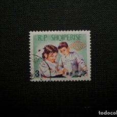Sellos: /20.07/-ALBANIA-1965-2 L. EN USADO/º/-. Lote 276550083