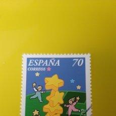 Sellos: EDIFIL 3707 USADA LUJO ESPAÑA 2000 EUROPA JUEGOS INFANTILES FILATELIA COLISEVM. Lote 276770978