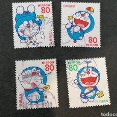 Sellos: DORAIMON SELLOS JAPÓN LOTE EN SELLOS USADOS. Lote 287723718