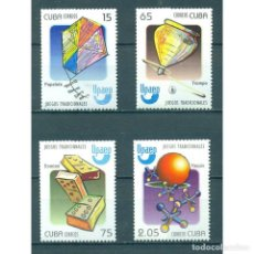 Sellos: ⚡ DISCOUNT CUBA 2009 GAMES FOR CHILDREN MNH - CHILDREN, TOYS. Lote 289927138