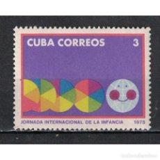 Sellos: ⚡ DISCOUNT CUBA 1975 INTERNATIONAL DAY FOR CHILDREN MNH - CHILDREN. Lote 289936058