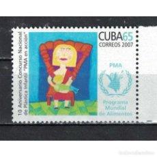 Sellos: ⚡ DISCOUNT CUBA 2007 10-Я ПРОГРАММА ДЕТСКОЙ ХУДОЖЕСТВЕННОЙ ВЫСТАВКИ MNH - CHILDREN, PICTURE. Lote 289941088