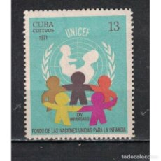Sellos: ⚡ DISCOUNT CUBA 1971 THE 25TH ANNIVERSARY OF UNICEF NG - CHILDREN, UNICEF. Lote 289946603