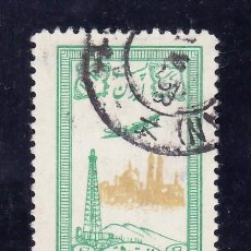 Sellos: IRAN A 81 USADA, AVION, POZOS DE PETROLEO EN GHOM . Lote 24981518
