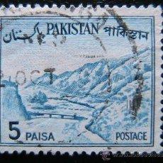 Sellos: PAKISTAN - SELLO DE 5 PAISA. Lote 38049180