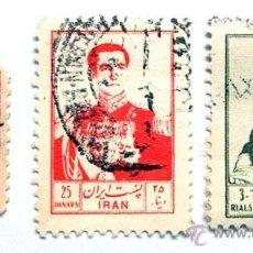 Sellos: 3 SELLOS DE IRAN. Lote 45164680