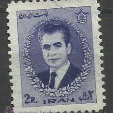 Sellos: IRAN 1966 SELLO DE 2 R - MOHAMMAD REZA SHAH PAHLAVI. Lote 47829367