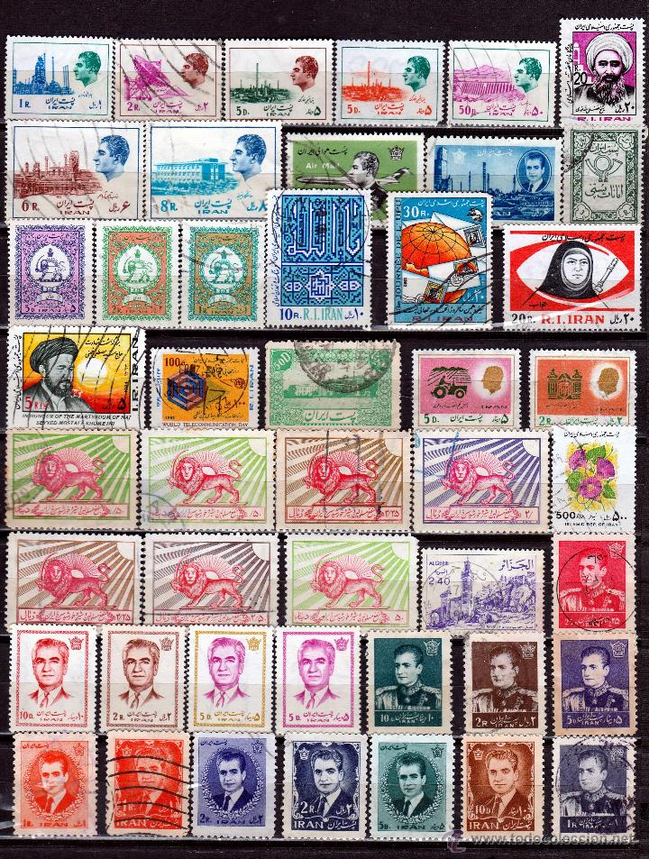 IRAN (16-37 ) LOTE SELLOS DIFERENTES . *,MH (Sellos - Extranjero - Asia - Irán)