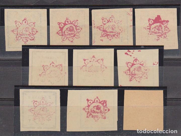 Sellos: 147/56. SERIE 10 VALORES S/D (SOBRECARGA) 1902/3. - Foto 2 - 62249908