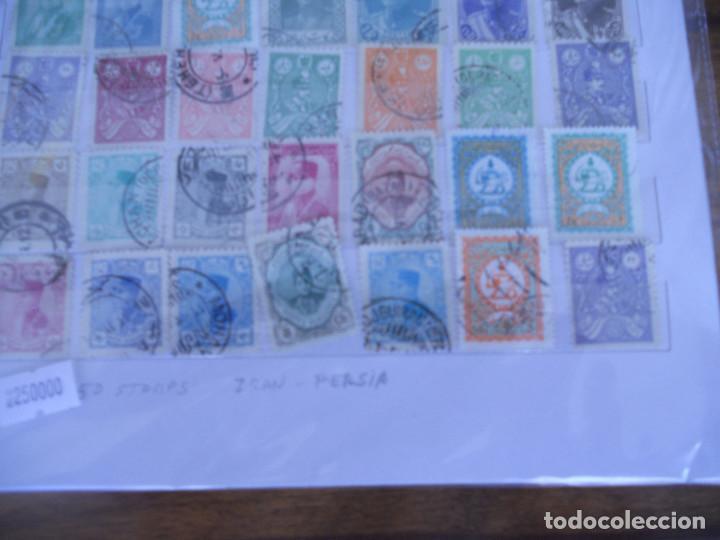 Sellos: Lote 50 sellos usados IRAN - PERSIA - Foto 2 - 80202533