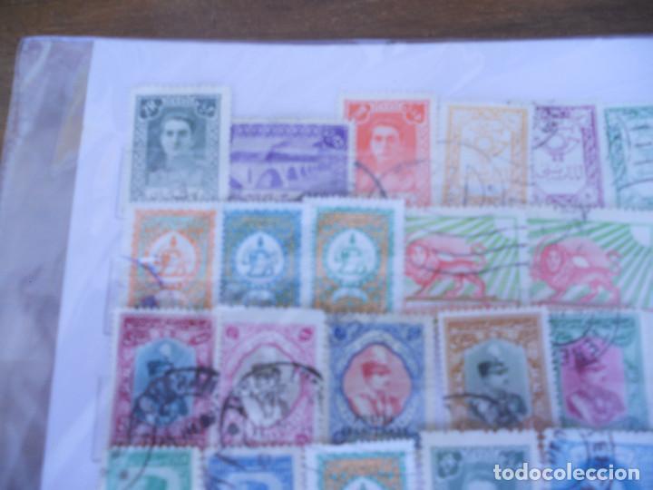 Sellos: Lote 50 sellos usados IRAN - PERSIA - Foto 3 - 80202533