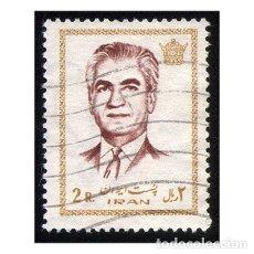 Sellos: IRÁN 1972. MI 1562. PRESIDENTE MOHAMMAD REZA SHAH PAHLAVI. USADO. Lote 142134198