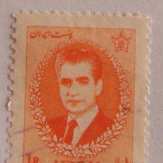 Sellos: IRÁN (PERSIA) SHAH PAHLAVI, AÑO 1966. JEFES DE ESTADO. Lote 149663914
