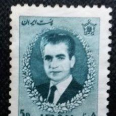 Sellos: SELLO IRAN, 5D MOHAMMED REZA SAHAH, 1960.. Lote 153127286