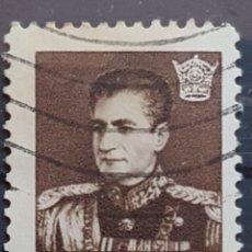 Sellos: IRAN_SELLO USADO_MOHAMED REZA SHAH PAHLAVI 2 RIAL_YT-IR 925 AÑO 1958 LOTE 6637. Lote 194126278