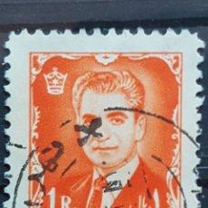 Sellos: IRAN_SELLO USADO_SHAH PAHLAVI PALACIO AQUEMENIDA_YT-IR 1003 AÑO 1962 LOTE 6644. Lote 194126585