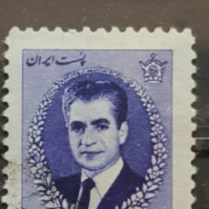 Sellos: IRAN_SELLO USADO_SHAH PAHLAVI RUINAS PERSEPOLIS 2 RIAL_YT-IR 1159 AÑO 1966 LOTE 6675. Lote 194127296
