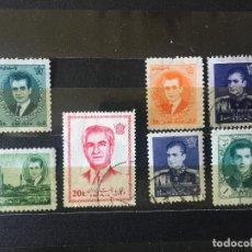 Sellos: SELLOS IRAN, LOTE DE 7 SELLOS USADOS DIFERENTES. Lote 202320818