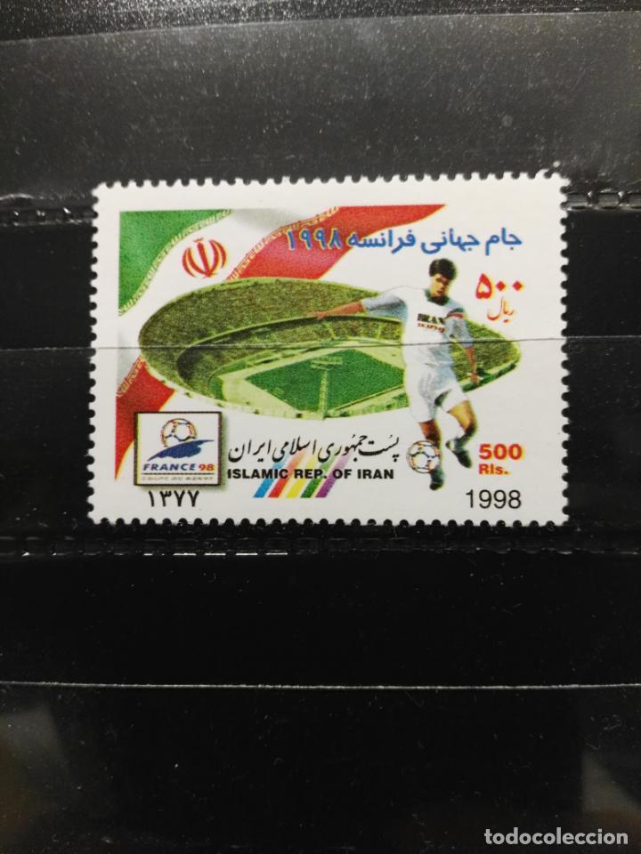 IRÁN. YVERT 2521. COPA MUNDIAL DE FÚTBOL FRANCIA 1998. NUEVO (Sellos - Extranjero - Asia - Irán)